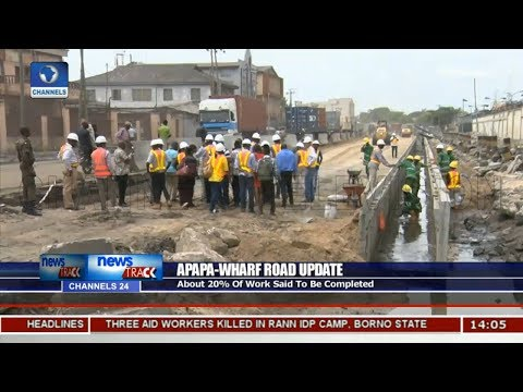 About 20% Of Apapa Wharf Road Said To Be Completed - Adeoye