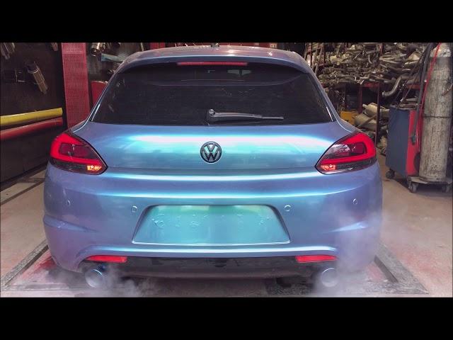 VW SCIROCCO EGZOZ SESİ