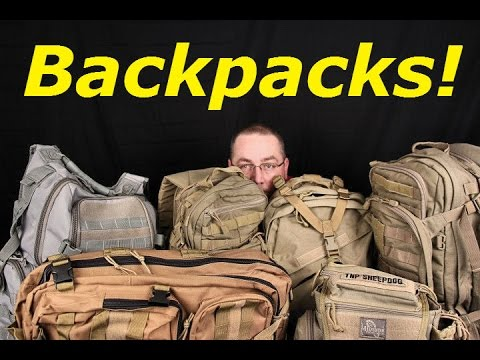 "Buying A ""Tactical"" Style Backpack: What I Look For"