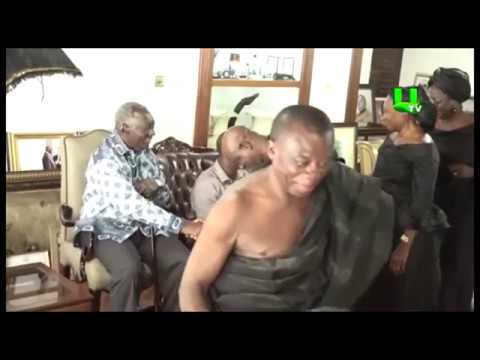 Ex-President Kufuor informed of the death of the Drobomanhene