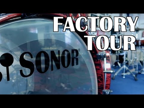 SONOR FACTORY TOUR