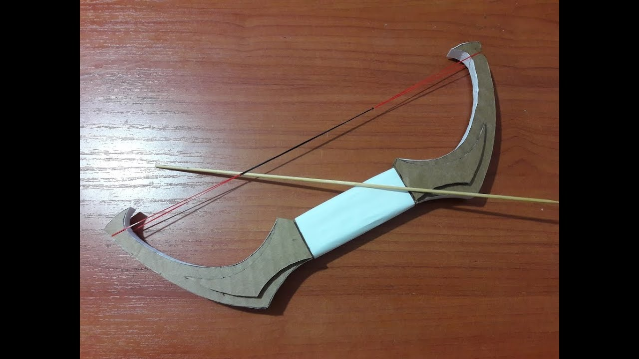 Diy How To Make Bow From Cardboard