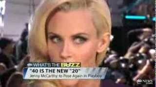 Jenny McCarthy to Pose Nude in Playboy at Age 40