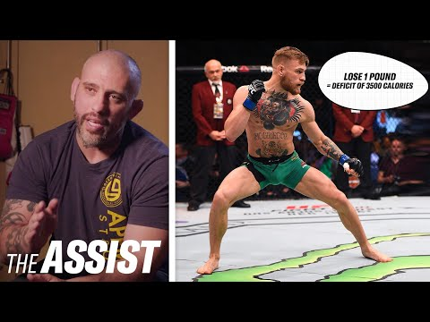How Conor McGregor's Nutritionists Help Him Cut Weight | The Assist | GQ Sports