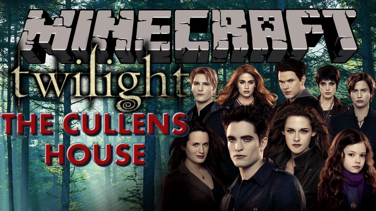 The Cullens minecraft house tour - the cullens house (twilight saga) - youtube