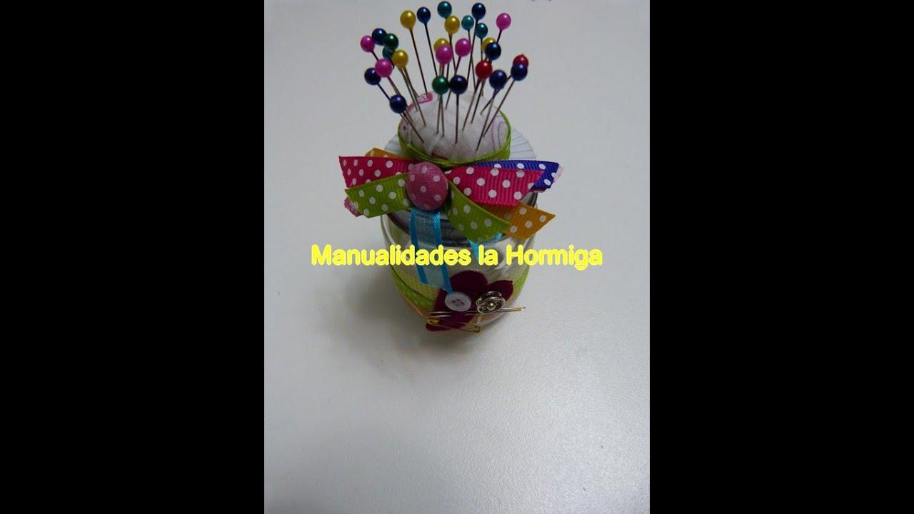 Diy alfileteros elaborados con materiales reutilizables for Materiales para goma eva