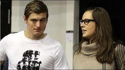 Toni Kroos his wife Jessica Farber