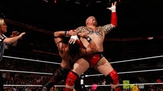Yoshi Tatsu vs. Lord Tensai: Raw, April 9, 2012