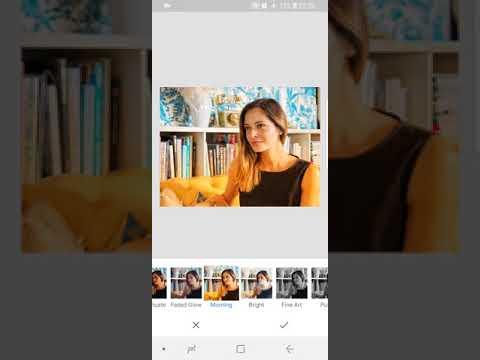 Como editar foto no celular | Snapseed