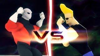 Jiren VS Johnny Bravo (Ultra Instinct)