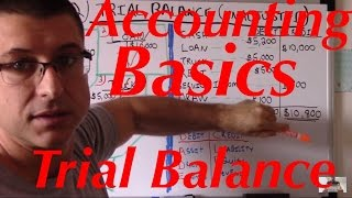 Accounting For Beginners #22 / Trial Balance Unadjusted / Accounting Basics