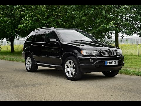 2003 bmw x5 sport 3 0 video review youtube. Black Bedroom Furniture Sets. Home Design Ideas