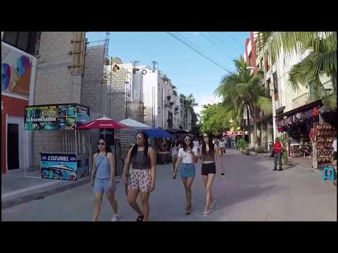 Playa del Carmen - Mexico - La Quinta Avenida - 5th Avenue - 2017