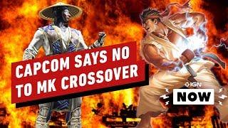Capcom Turned Down a Mortal Kombat Collaboration - IGN Now