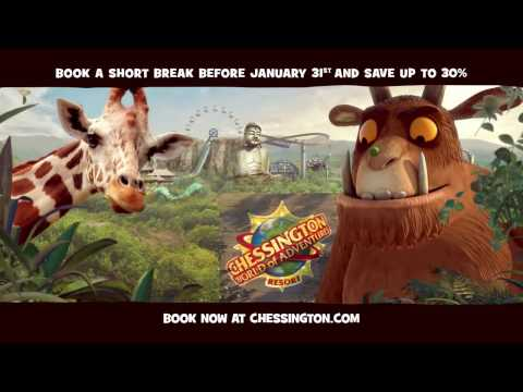 The Gruffalo River Ride Adventure - Chessington 2017 Short Breaks TV Advert HD
