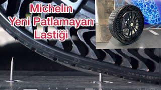 Michelin Yeni Havasız ve Patlamayan Lastiği UPTIS | Airless Tire