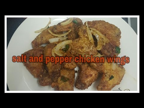 How To Make Salt And Pepper Chicken Wings Chinese Style
