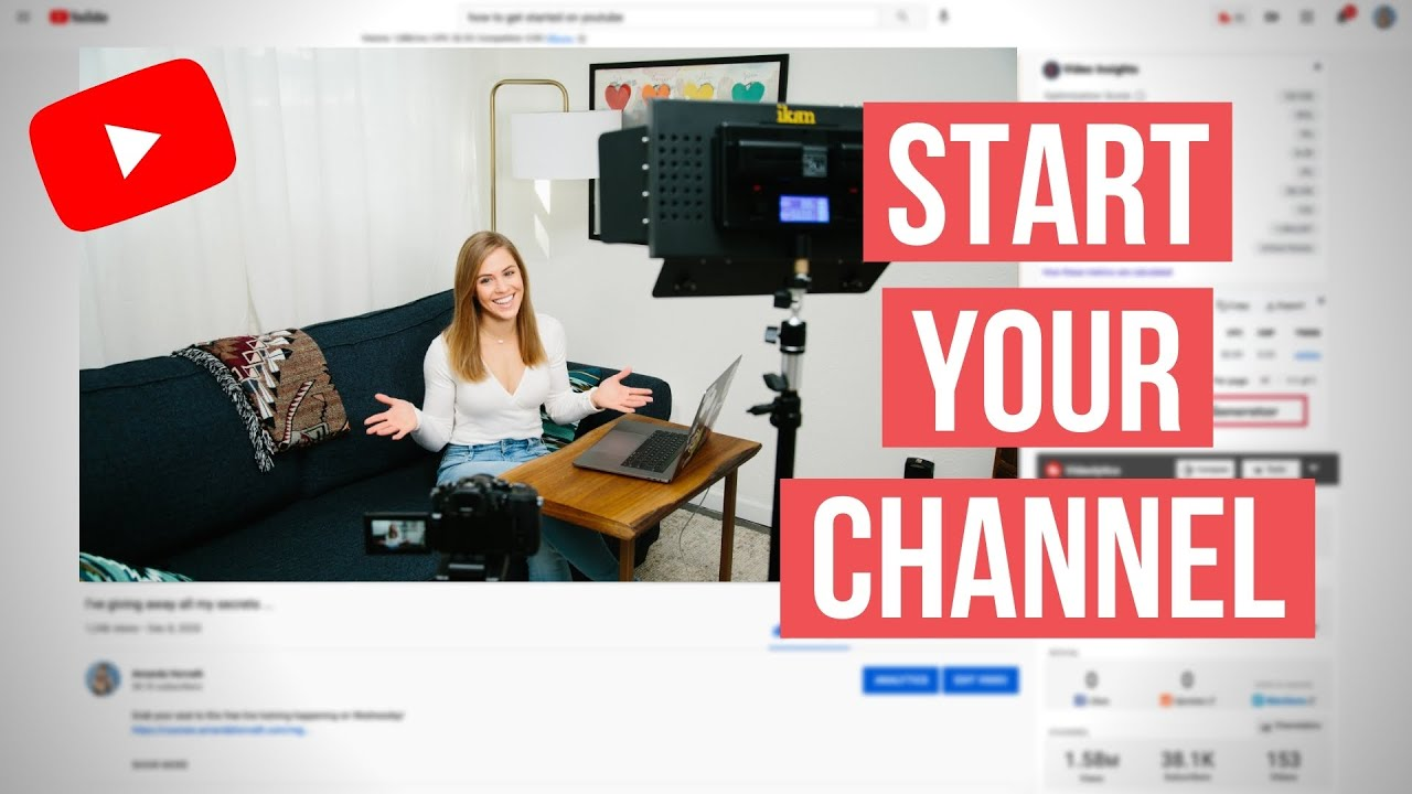 Download How to Start a YouTube Channel in 2021 || For Beginners with ZERO Subscribers