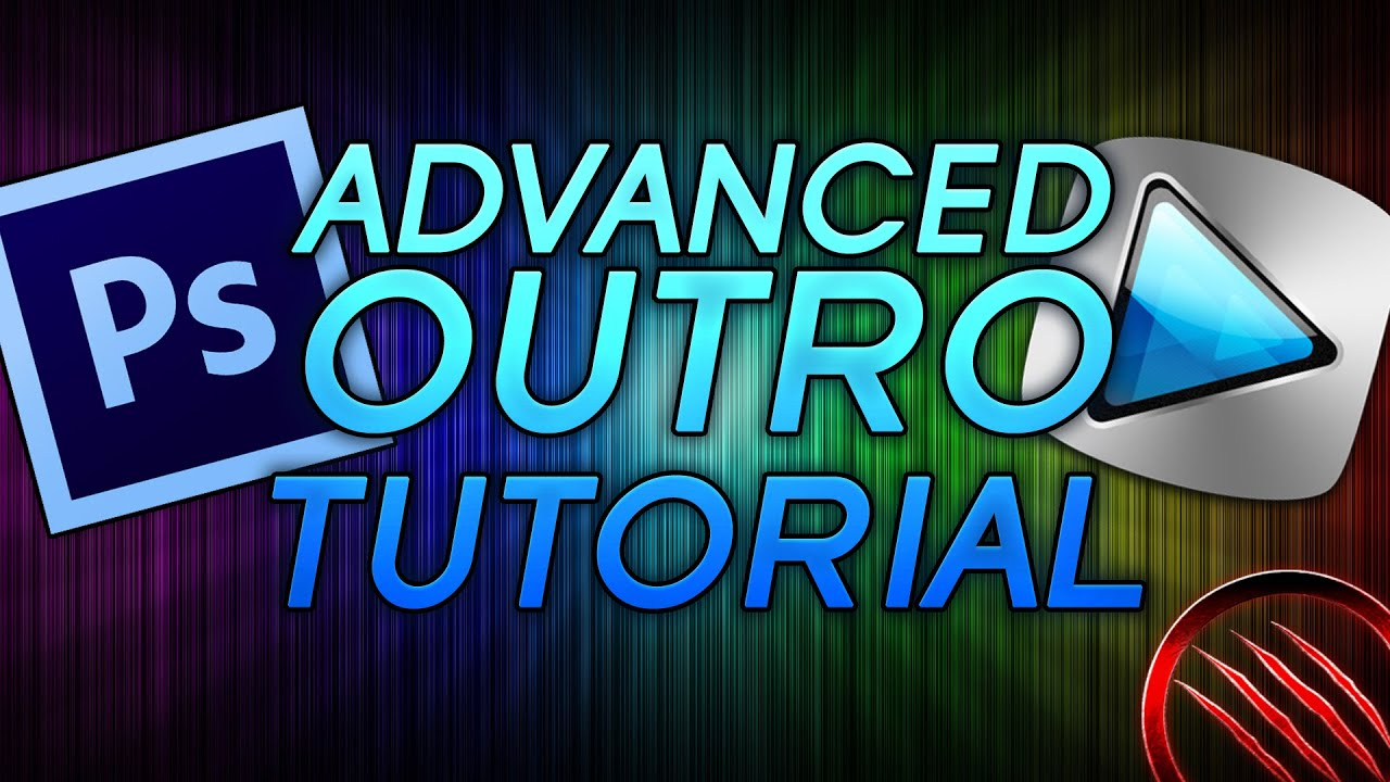 How to make an advanced outro for your youtube videos tutorial how to make an advanced outro for your youtube videos tutorial photoshop sony vegas youtube baditri Image collections