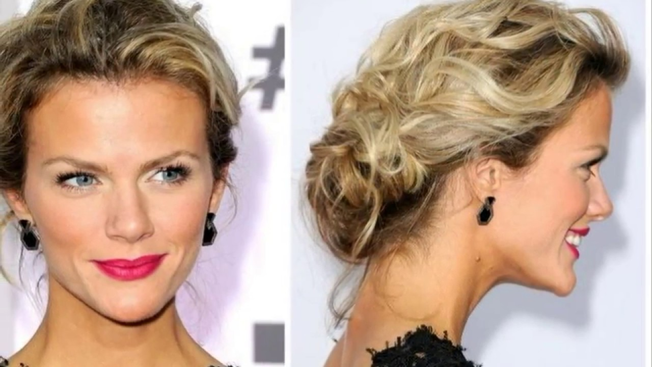 Messy Updo Hairstyles For Prom Ideas 2018 Youtube