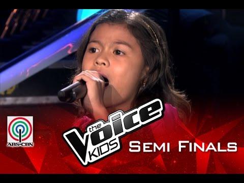 The Voice Kids Philippines 2015 Semi Finals: Halik/Luha/Basang Basa Sa Ulan by Lyca Gairanod