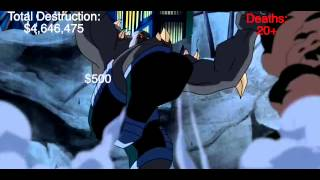 SUPERMAN VS DOOMSDAY TOTAL DESTRUCTION