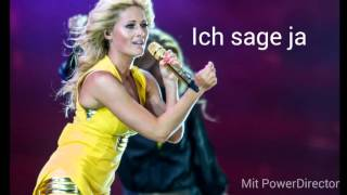 Unser Tag - Helene Fischer (lyrics)