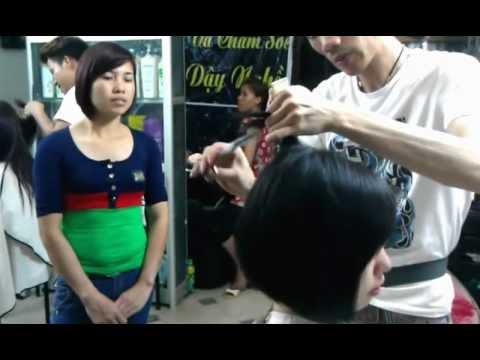Trung tam day nghe tao mau  toc tai Ha Noi salon DAI 81 dt 0944811981