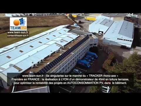 TRACKER SOLAIRE HORIZONTAL de 45ml - Première en France