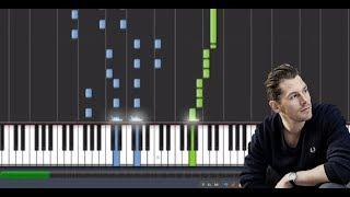 Rasmus Seebach - Øde Ø (Klaver Tutorial)