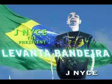 "Brazil New City Of God Music Video  "" Bandeira ""   Mr. Nyce  (J NYCE)"