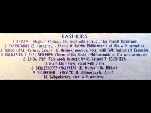 Tatars and Bashkirs - Bruno LP 1959 Bashkir