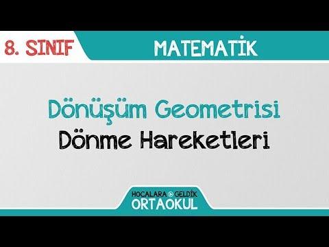 Dönüşüm Geometrisi- Döndürme