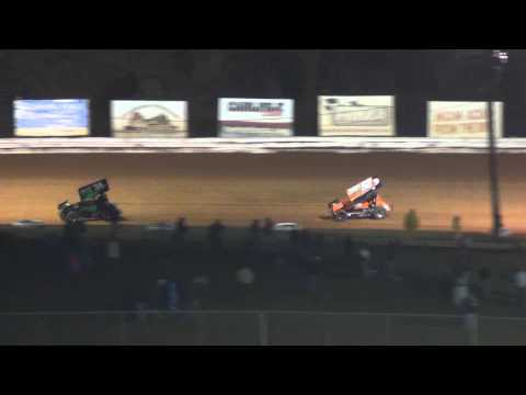 Williams Grove Speedway 358 Sprint Car Highlights 4-12-13