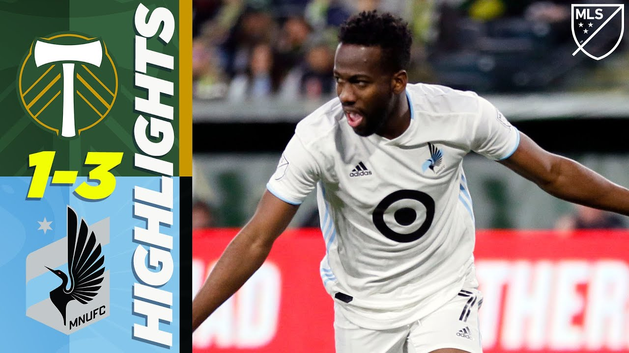 Portland Timbers 1-3 Minnesota United FC | Kevin Molino Brace | MLS HIGHLIGHTS