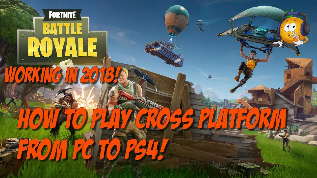how to play fortnite battle royale cross platform - fortnite battle royale cross play pc ps4