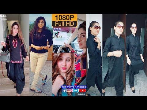 Sindhi punjabi Girls Tik tok mix s | Pakistani rubi ali actor tik tok #Musically