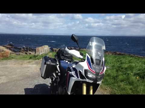 Honda africa twin touring ireland and wild atlantic coast
