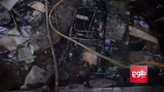 Footage of aftermath of suicide attacks on Tebyan cultural center in Kabul