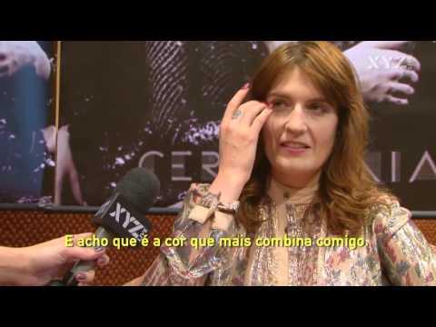 Primeira entrevista com Florence Welch NO BRASIL - (XYZ TV)