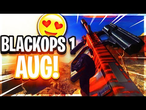 Using The Black Ops 1 AUG In Modern Warfare!!