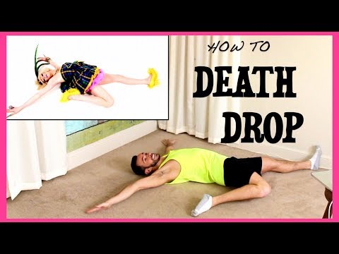 LEARNING HOW TO DEATH DROP w/ @LaganjaEstranja & @FeastofFun
