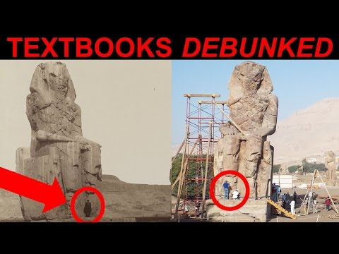 MASSIVE Pyramids of Egypt Stone Statues - Colossi of Memnon - Lost Ancient High Technology