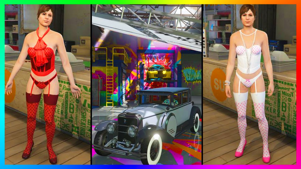 GTA 5 Valentineu0026#39;s Day DLC! - How Much Will U0026quot;Be My Valentineu0026quot; Update Content Clothing U0026 More ...