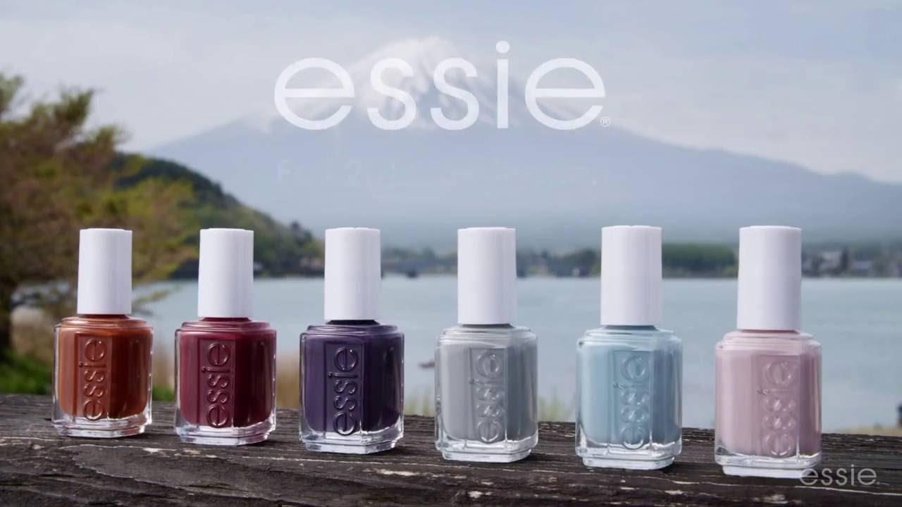Colección Essie Otoño 2016 - YouTube