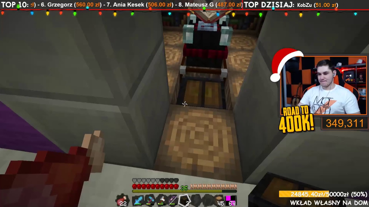 [Zapis LIVE] Minecraft Single :D