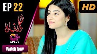 Gunnah - Episode 22 | Aplus Dramas | Sara Elahi, Shamoon Abbasi, Asad Malik | Pakistani Drama