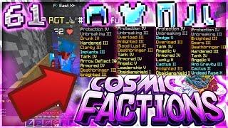FULL 9 LORE GOD SET KILL IN SAND TRAP | Minecraft FACTIONS #61 (CosmicPvP)