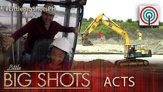 Little Big Shots Philippines: Aubrey | 8-year-old Backhoe Operator