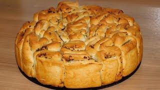 Чесночный хлеб к шашлыку